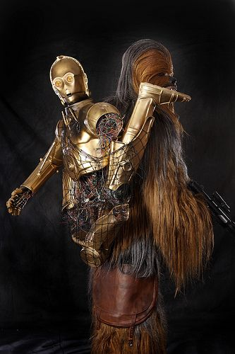c3po on chewies back